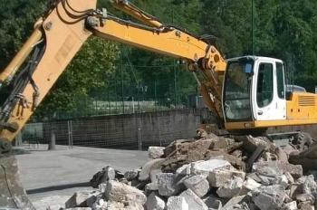 Pelliste auterive démolition remblaiement