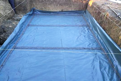 Guide construction piscine Auterive fond